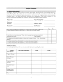 Project Proposal Document Template page 1 preview