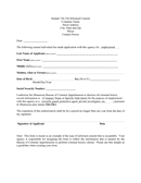 Security guard informed consent form page 1 preview