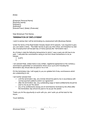 Termination of employment template page 1