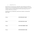 Profit sharing agreement page 2 preview