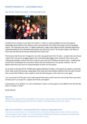 Christmas newsletter page 1 preview