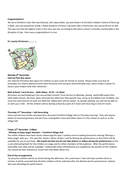 Christmas newsletter page 2 preview