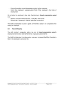 Employment Termination Letters