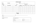 Expense report template page 1 preview
