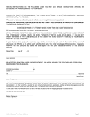Power of attorney (California) page 2 preview