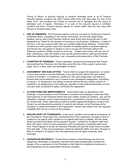 residential lease agreement (Illinois) page 2 preview