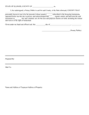 Quick claim deed form page 2 preview