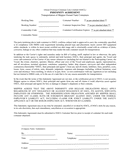 Indemnity agreement example page 1 preview