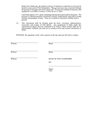 Sales agreement and deposit receipt page 2 preview