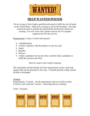 Help wanted poster page 1 preview