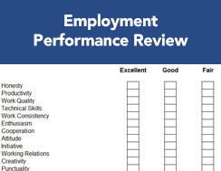 Employement performance review